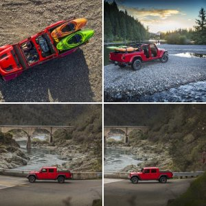 Red Jeep JT Gladiator Rubicon : Official FCA Press Photos - Part 4