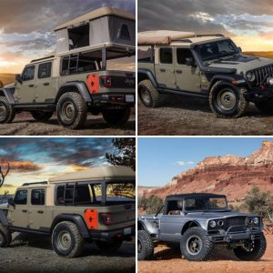 Jeep Concept Gladiators 2019