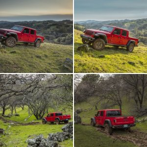 Red Jeep Gladiator Overland : Official FCA Press Photos - Part 2